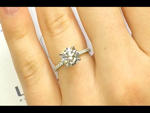 cover silver round engagement women cut sterling item ring carat diamond gold white carbon for brilliant wedding synthetic rings anniversary