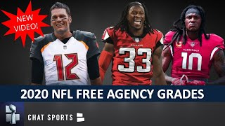 NFL Free Agency Grades For All 32 Teams - UPDATED Winners & Losers