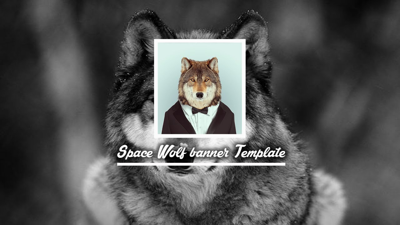 Space Wolves Banners Template - Spac...