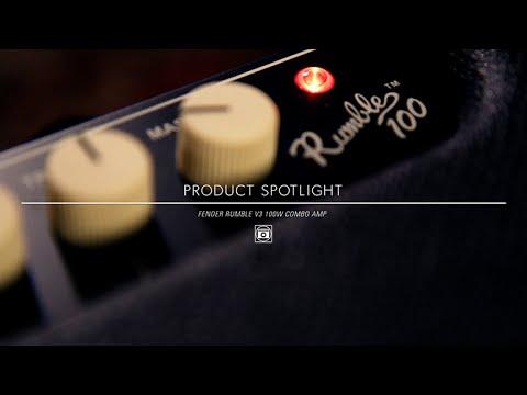 Product Spotlight - Fender Rumble V3 100 Watt Combo Bass Amp