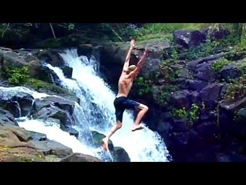 Exploring KAUAI, HAWAII: Waterfall Jungle Hiking Adventure!
