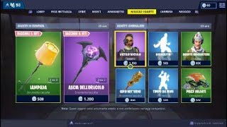 SHOP FORTNITE ITA SKIN FIGA ON TODAY 22 January SEASON 7
