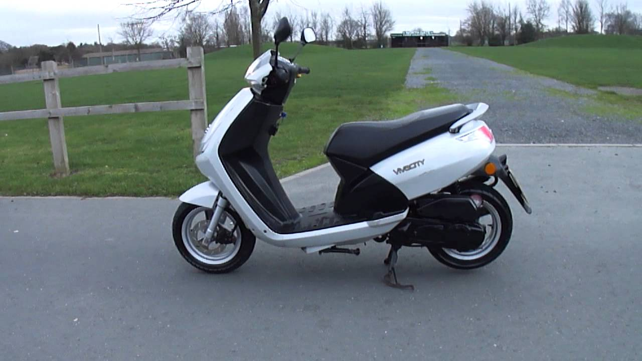 2008 peugeot vivacity 3 50 scooter moped vgc 8 3k miles 2 owner new mot tax youtube