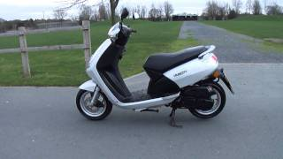 2008 peugeot vivacity 3 50 scooter moped vgc 8 3k miles 2 owner new mot tax