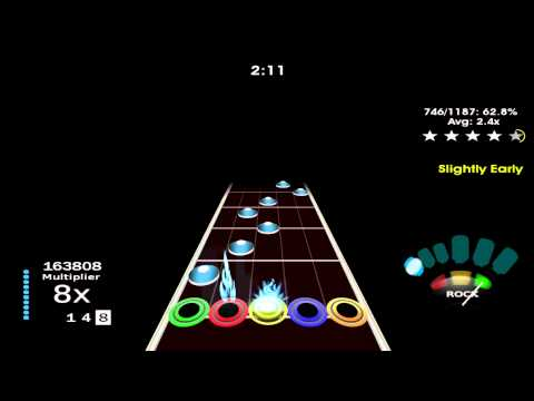 Prima Play Frets On Fire (Guitar Hero) Avenged Sevenfold Unbound The Wild Ride Expert 96%