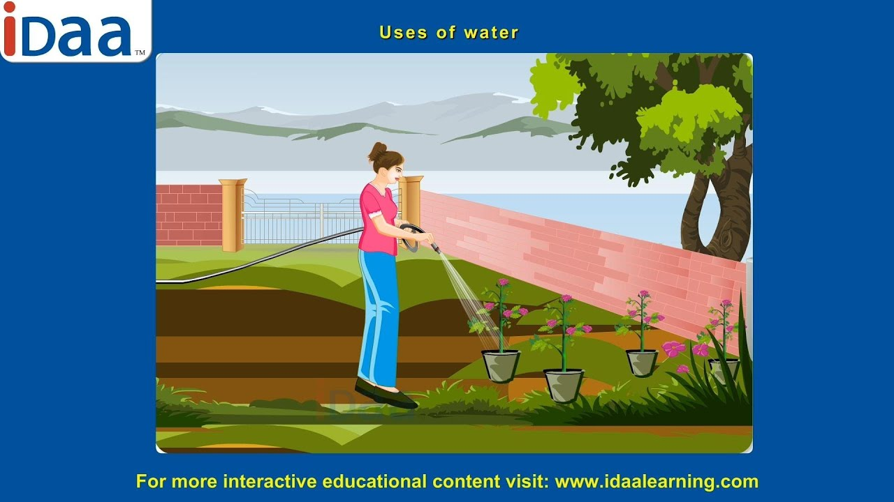 Water & its Use for kids - YouTube