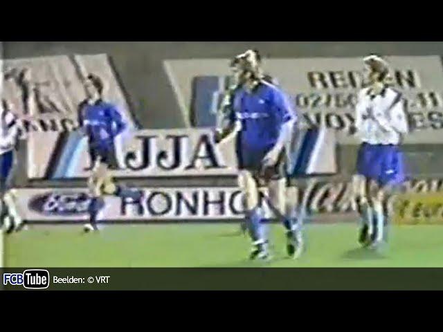 1991-1992 - Jupiler Pro League - 26. FC Liège - Club Brugge 0-1