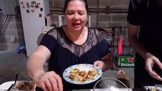 Vlog 172 ll Cả Nhà Cùng Thưởng Thức Món Bánh Khọt Cô Năm