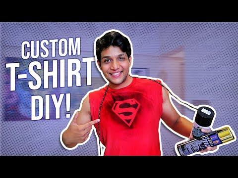 DIY Custom T-shirt Printing AT HOME