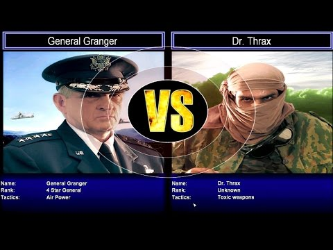 Air Force vs Dr. Thrax Ⓦ Command and Conquer Generals: Zero Hour - Challenge Mode (Hard)