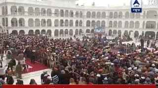 Visuals from Patna Sahib Gurudwara on 350th Prakash Parv of Guru Gobind Singh