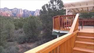 Price Reduced 55k to 725k! 40 Lewis Way Sedona Home on 1.58 acre with Panoramic views
