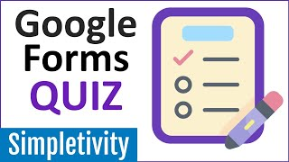 How To Create A Google Forms Quiz - Tutorial For Beginners