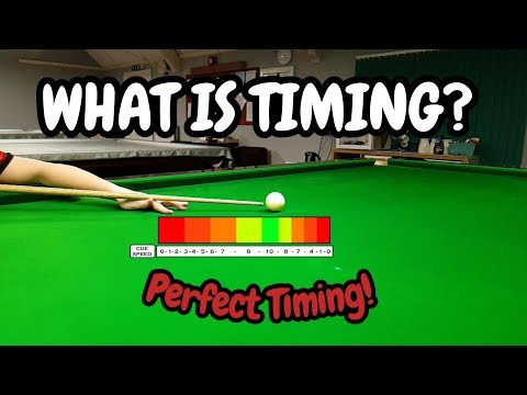 Snooker Timing The Shot - Snooker Perfect Timing