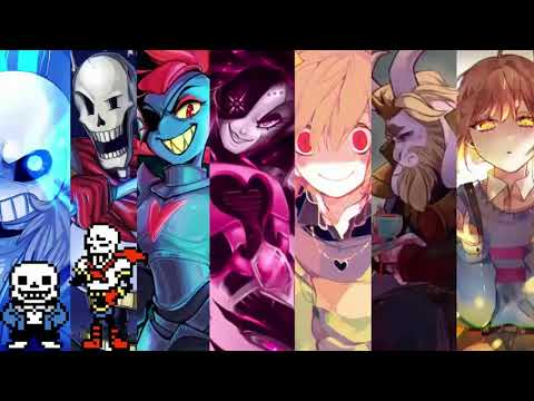 【1 Hour】Stronger Than You - Sans, Papyrus, Undyne, Mettaton, Chara, Asgore & Frisk