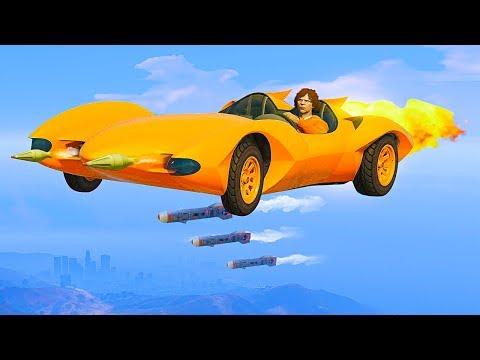 LEAKED NEW SECRET FLYING SUPER CAR! (GTA 5 Funny Moments)