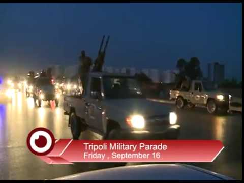 Military parade in Libyan capital, Tripoli