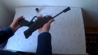 Обзор пневматического пружинно поршневого пистолета ИЖ - 53М.