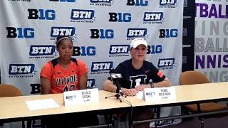 Big Ten Softball Tournament: Illinois vs. Iowa Post-Game Press Conference