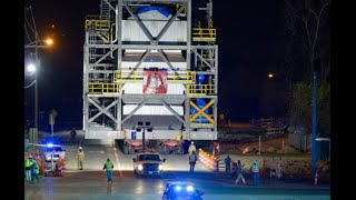First Heavy Haul Transport for Sasol's US Mega Project