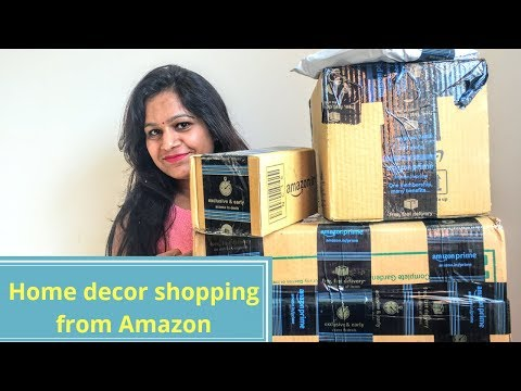 Amazon Home decor Haul || Amazon home decor shopping unboxing and review||Backyard Gardening