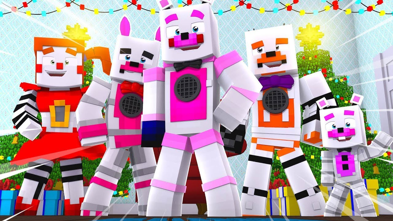 Christmas Surprise Party ?!   Minecraft FNAF Roleplay