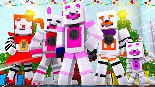 Christmas Surprise Party ?! | Minecraft FNAF Roleplay