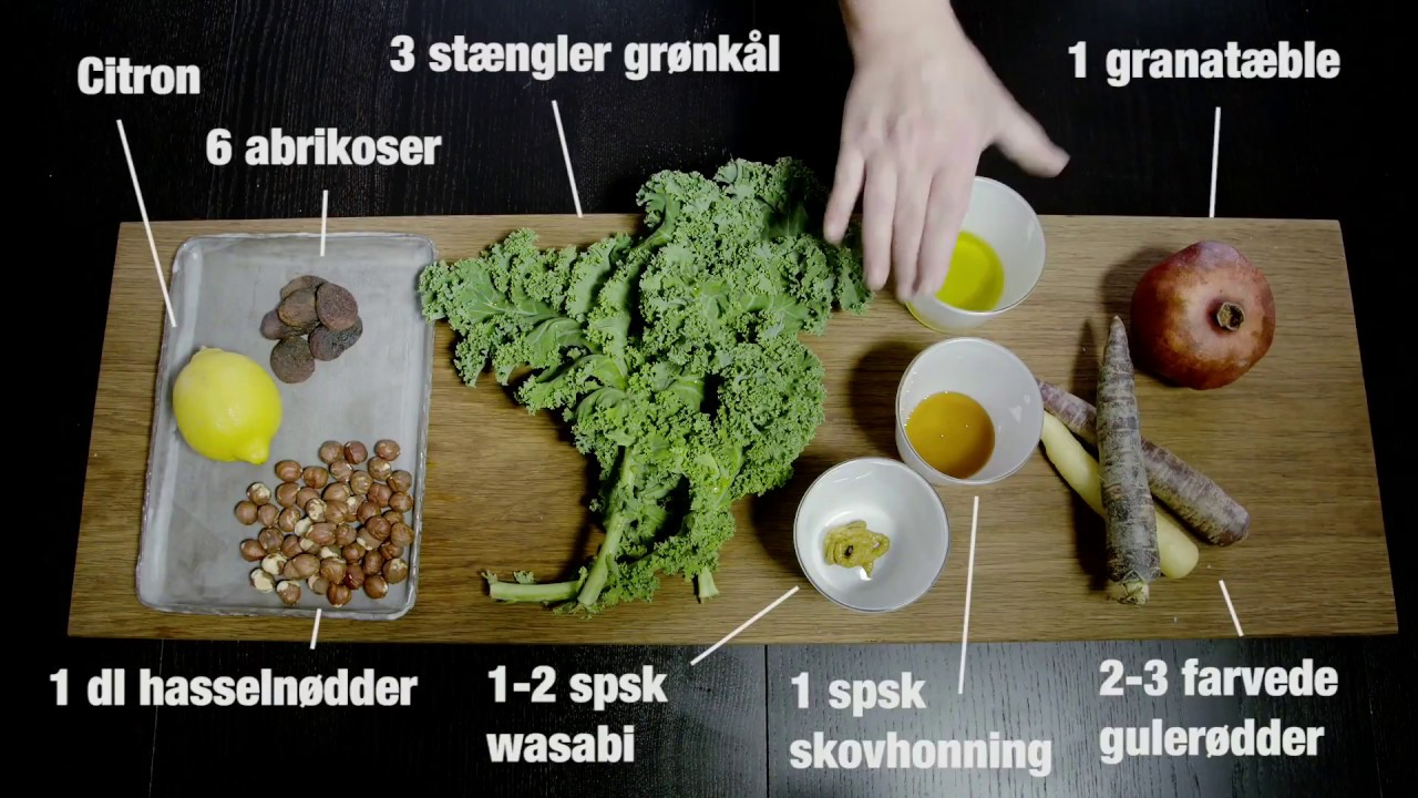 salat tøsen grønkål