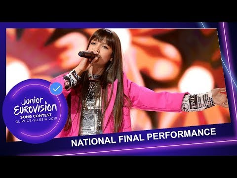 Wiktoria Gabor - Superhero - Poland🇵🇱 - National Final Performance - Junior Eurovision 2019