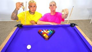 POOL GAME BET! (BETTING MY $5,000 GOLD WATCH)