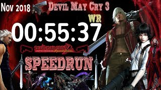 Devil May Cry 3 SE Dante NG SPEEDRUN World Record NOV 2018 PS4/PC/XBOX