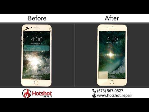 iPhone 7 Plus Screen Repair at Hotshot Repair in Columbia MO