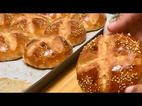 petit-pain-brioché-au-miel-🍯-un-pur-délice-💯-réussi-/-honey-brioche-bread