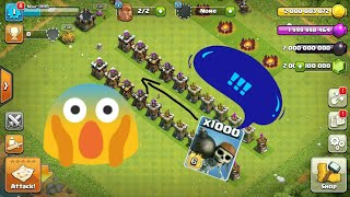 Clash of clans Can thay do it !! level max wall breaker VS Archer tower level ( 5 - 15 )