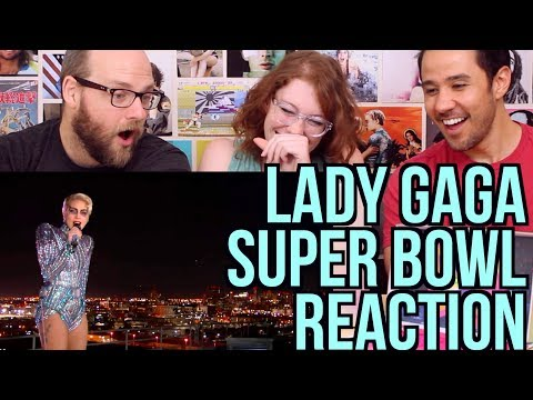 LADY GAGA - Super Bowl Half-Time Performance - REACTION