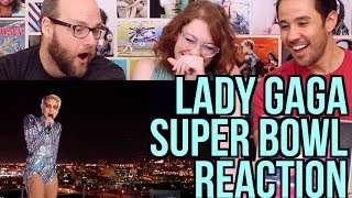 Gambar cover LADY GAGA - Super Bowl Half-Time Performance - REACTION