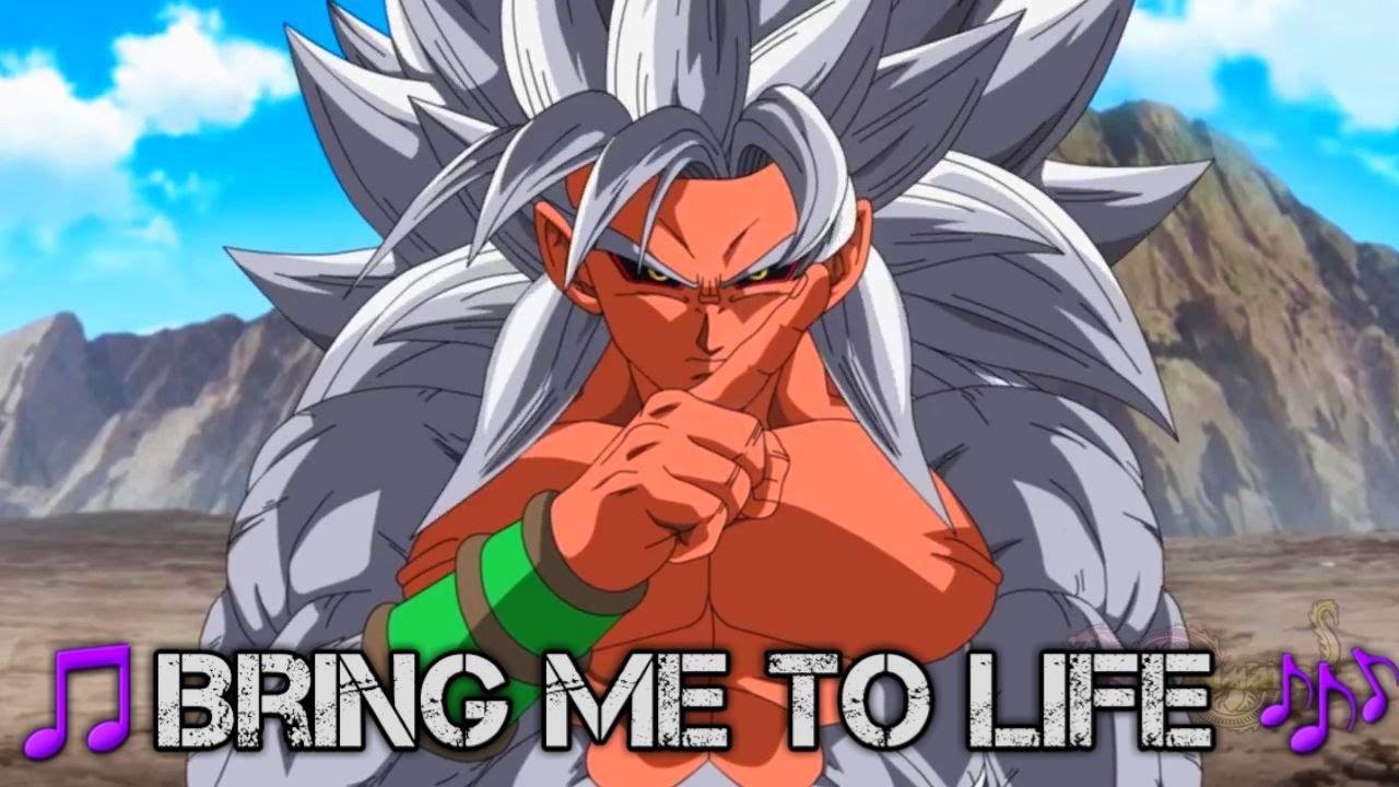 "Download New Dragon Ball AF 2021 AMV🎵Bring Me To Life🎶 ""Clasic Music"" Goku SSJ 5 VS Super Zaiko Final Battle"