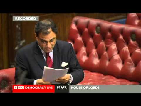 House of Lords - Former Army chief calls for rethink of troops plan - 8 April 2014