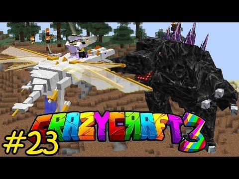 Oops Club Minecraft Crazy Craft 3.0 - Tập 23: HOÀNG TỬ SOLO MODZILLA
