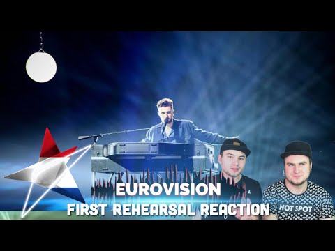 Duncan Laurence - Arcade - First Rehearsal (The Netherlands Реакци� Евровидение 2019)