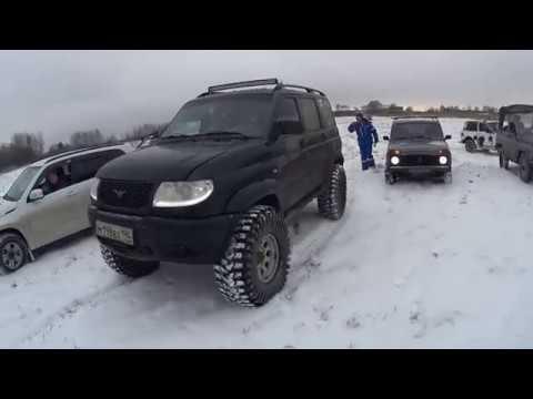4X4 Voskresensk off road Konobeevo 13.01