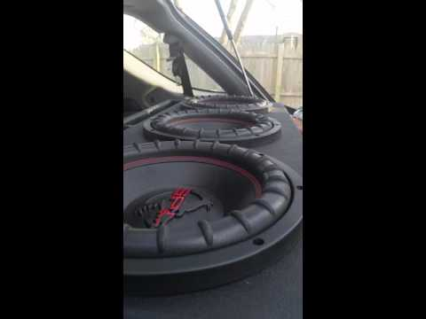 SPL Fxw102 10 Inch Subwoofers