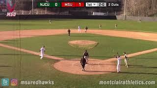 Montclair State Baseball Highlights vs. NJ City - April 20, 2018