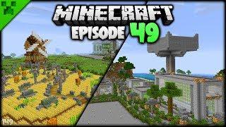 Minecraft Odd Jobs & Farm Revamp!   Python's World (Minecraft Survival Let's Play S2)   Episode 49