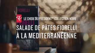 Salade de pâtes fiorelli à la méditerranéenne