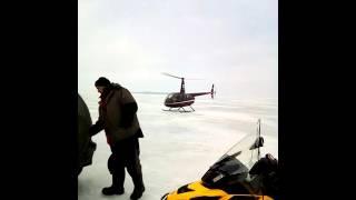 На вертольоті , на риболовлю !