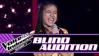 Joaquine - Here | Blind Auditions | The Voice Kids Indonesia Season 3 GTV 2018