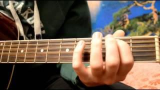 Рок-н-ролльный отрывок на гитаре (видеоурок)