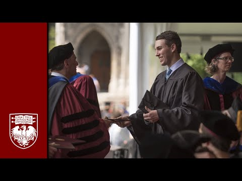 College Diploma Ceremony, Spring 2016 – The University of Chicago (Webcast Feed)