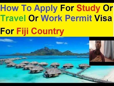how to get fiji work permit